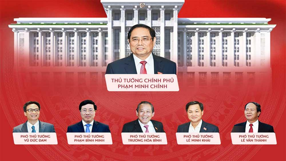 Cơ cấu nhân sự trong bộ máy Chính phủ